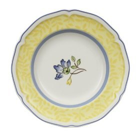 Villeroy & Boch Toscana Yellow 8-1/4-Inch Salad Plate, Set of 6