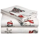 Pike Street 135-Gram Printed Flannel Twin Sheet Set, Baby Bear