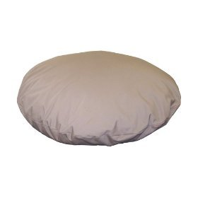 "Pet Goods 54"" Round Pillow Bed with Zipper and Liner"