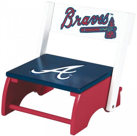 Atlanta Braves MLB Wooden Flip-Up Step-Up