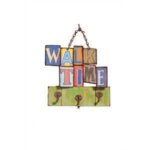 Quality Time Walk Time Organizer with 3 Hooks