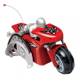 Pro Racing Remote-Controlled Stunt Motorcycle