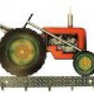 Next Innovations Farm Tractor 5-Hook Key Rack Laser Cut Metal Wall Art