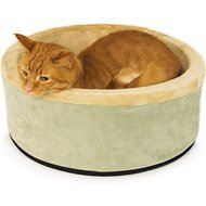 K&H Thermo-Kitty Large Heated Cat Bed-20-Inch