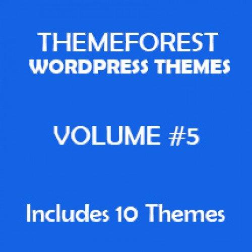Volume #5 - Themeforest WordPress Themes Package
