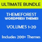Ulitmate ThemeForest WordPress Bundle - Volumes 1-20
