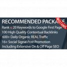 SEO Package | Rank Your Website First Page Of Google