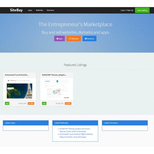 Website Marketplace Script Customize, Autopilot, Home Business