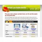 ClickBank Weightloss Review Website
