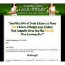 Weight Loss Ebook Website