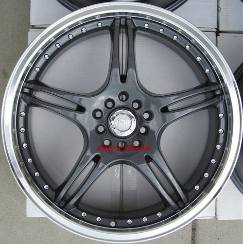 "17"" Gunmetal ADR Battle Exe Rims and Nexen N3000 Tires 5 Lug"