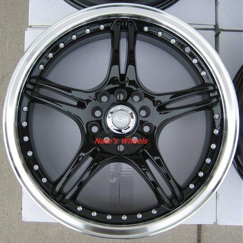 "17"" Black ADR Battle Exe Rims and Nexen N3000 Tires 5 Lug 48 Offset"