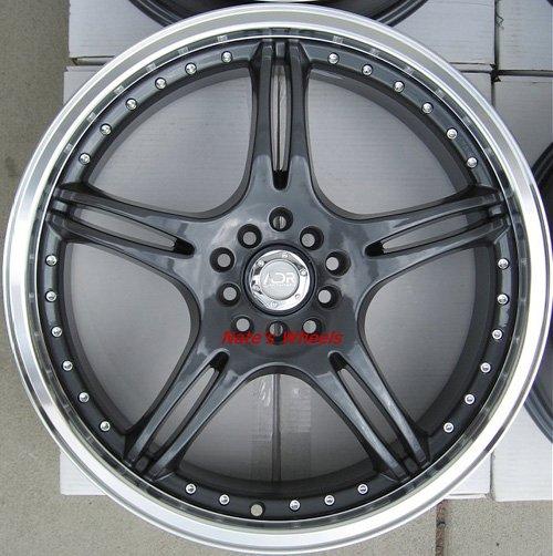 "17"" Gunmetal ADR Battle Exe Rims and Nexen N3000 Tires 5 Lug 48 Offset"