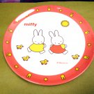 Japan Miffy Melamine Tableware 20cm Round Plate kids child dinning plates