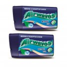 2 Packs Wrigley's Airwaves Menthol & Eucalyptus Flavour Intense Mint Candies