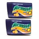 2 Packs Wrigley's Airwaves Honey & Lemon Intense Mint Candies candy drops