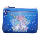Sanrio Little Twin Stars Two-Zip Pouch bag coin purse cards case