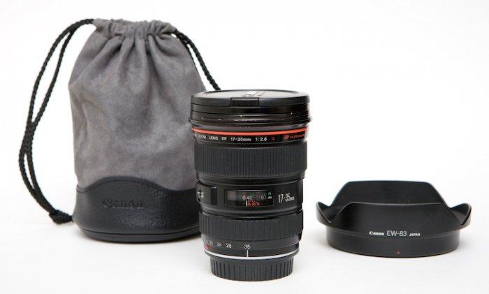 Canon 17-35mm f/2.8L