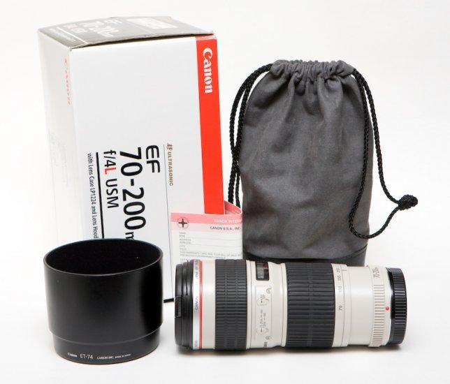 Canon 70-200mm f/4L Non-IS