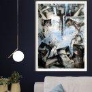 Abstract meditation painting2021B