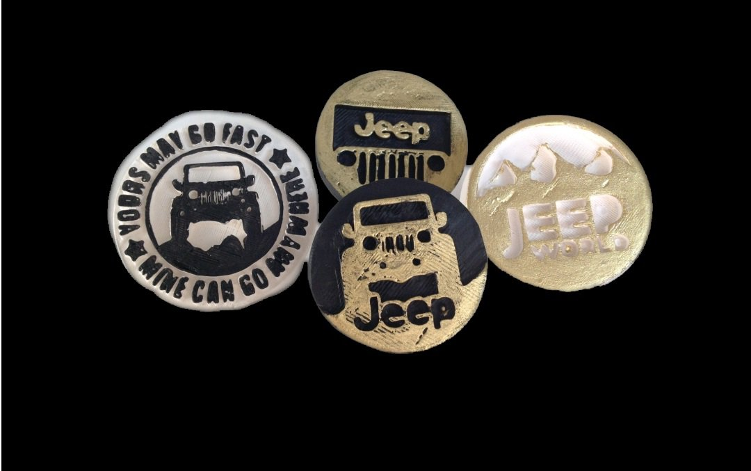 Scented plaster decoration Jeep 2021A