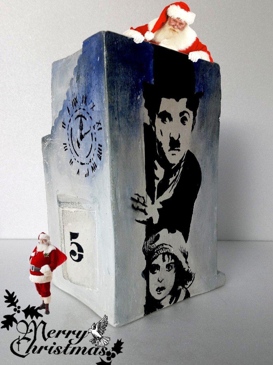 Pencil holder flowepot Charlie Chaplin04