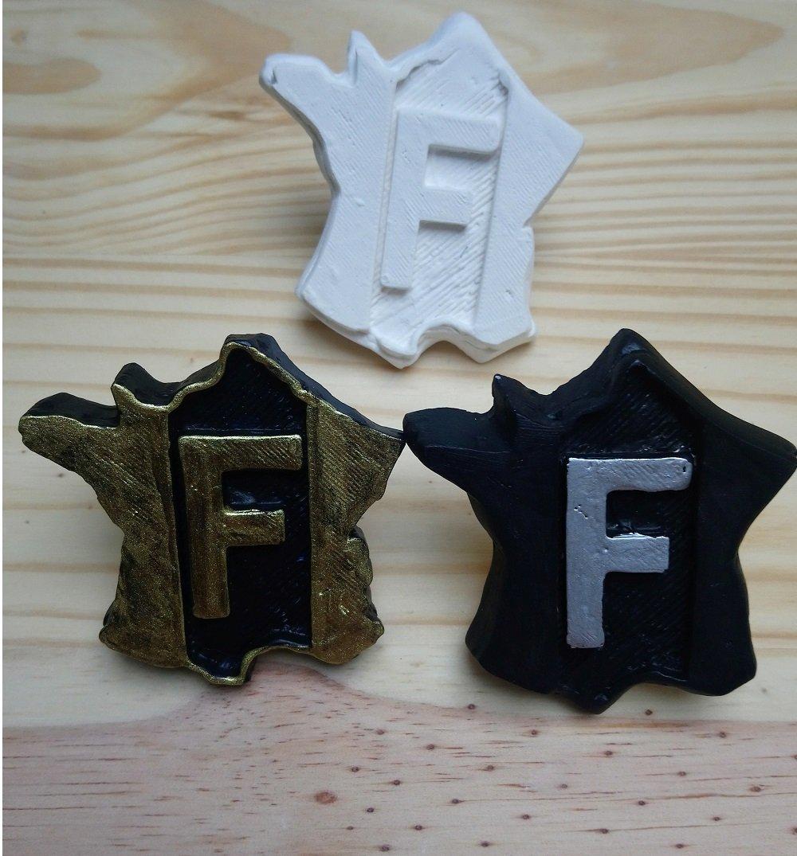 Scented plaster decoration F  Set (4)