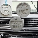 Scented plaster Jeep Mountain pendent  Set (4)