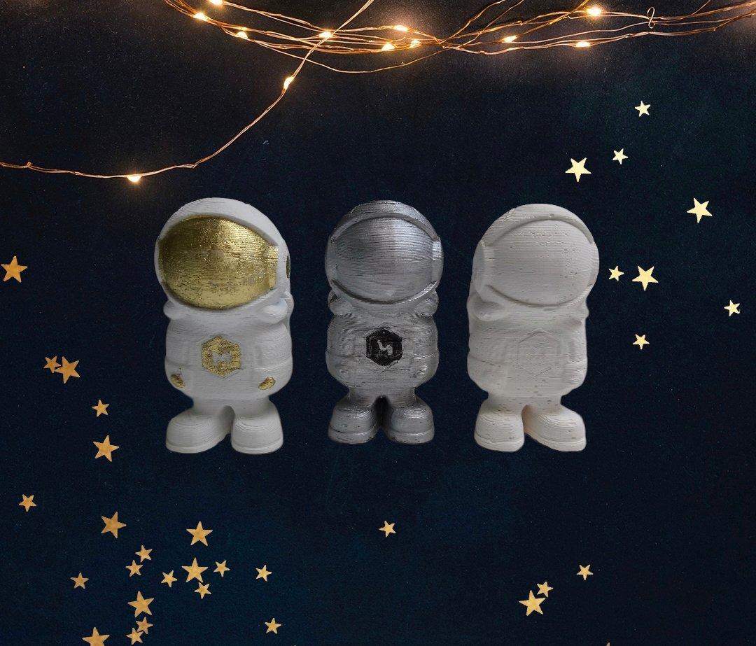 Scented plaster decoration astronaut  Set (3)