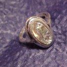 Shimmering Abalone Ring ~ 6 - 7 Designer