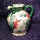 Rose & Green Japan Vintage Pitcher / Vase