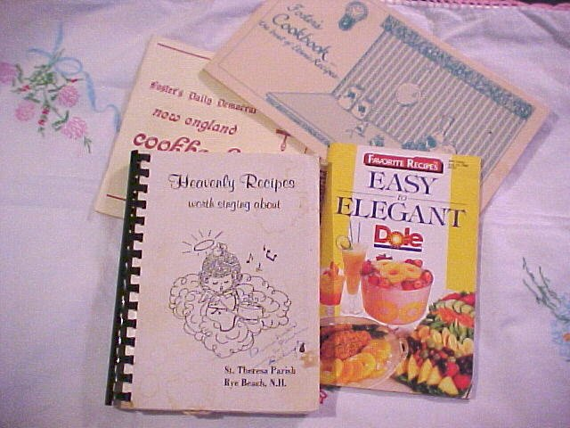 Regional CookBook Cook Book Lot Rye NH Dover New Hampshire