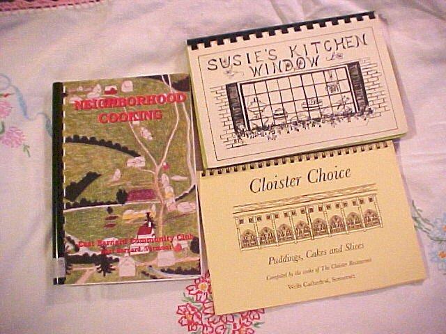 3 Regional Cook Books Cambridge Somerset Massachusetts East Barnard Vermont