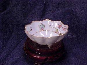 Eggshell Porcelain Vanity Pin Dish Bowl