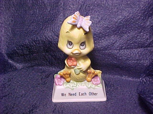 1979 Russ Berrie Porcelain Chick Figurine