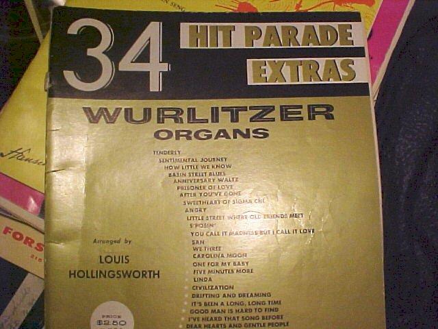 1960 Hit Parade Song Book Sheet Music