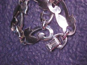 Fabulous Sperry SIlver Tone Link Vintage Bracelet