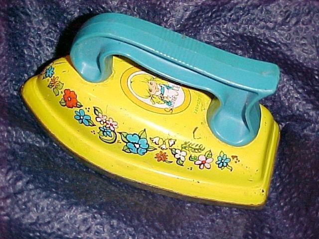 Sunnie Miss Vtg Tin Children's Toy Iron