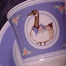 George Good BRIAR GOOSE 1985 Cup & Saucer Set