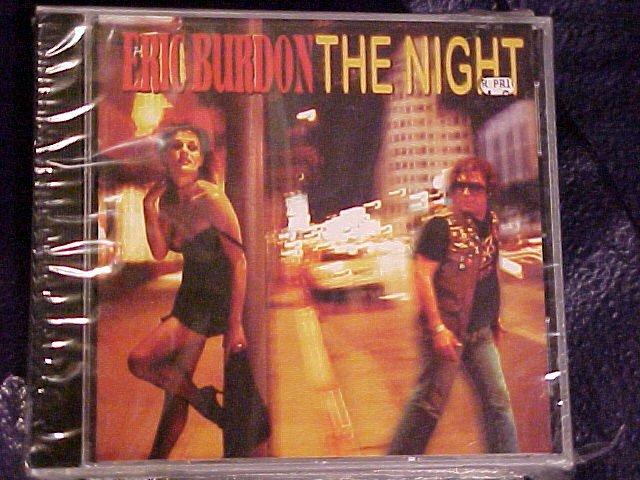 Eric Burdon THE NIGHT New CD