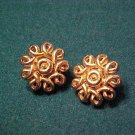 Coro Vintage Clip Earrings ~ Classic Costume