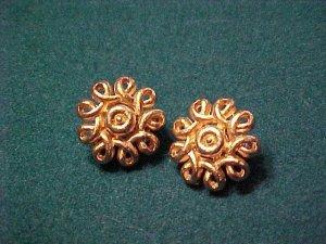Coro Vintage Clip Earrings ~ Classic Costume