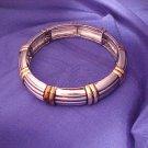 Brass & Silver Toned Comfort Fit Elegant Bracelet