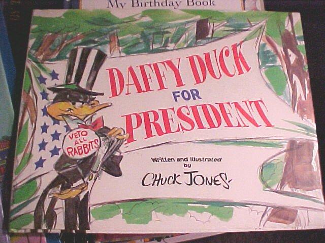 Daffy Duck For President Book Children's