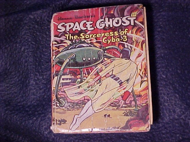 1968 Hanna Barbera's Space Ghost The Sorceress of Cyba-3 Book