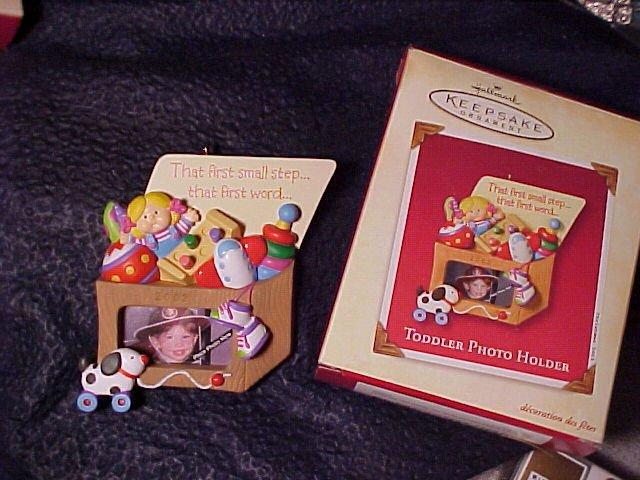 Child Toybox Hallmark Keepsake Ornament 2002 MIB