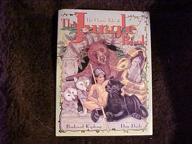 The Jungle Book Hardcover Childrens Animals