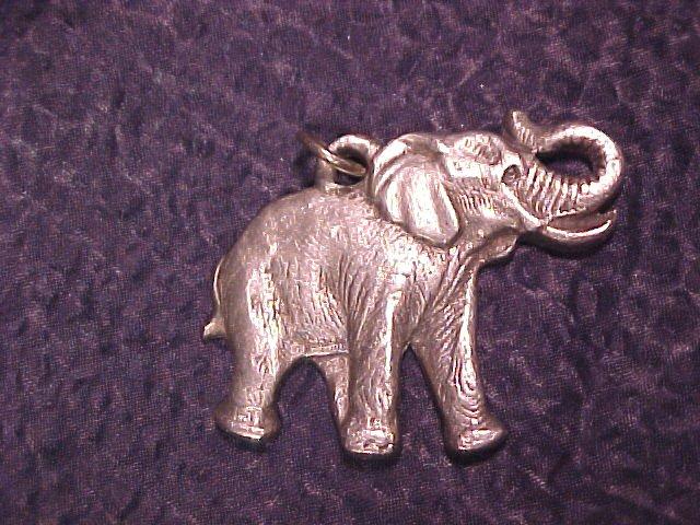P Davis Rawcliffe Pewter 1982 ELEPHANT