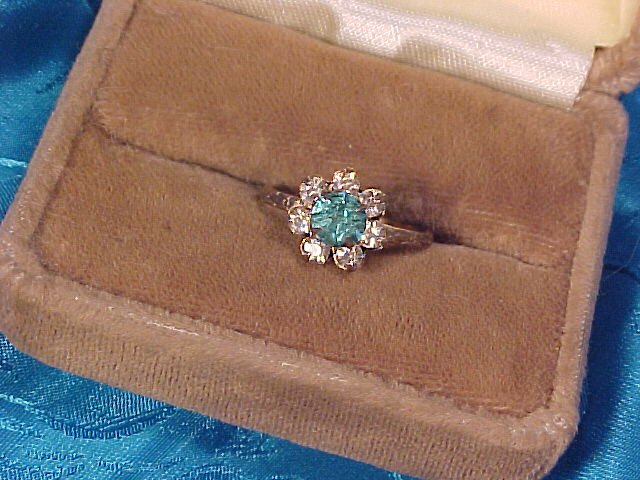 Uncas Sterling Silver Gold Vermeil Ring - Free Shipping