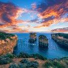 Digital Photo Wallpaper Background Screensaver Desktop-Picturesque ocean shore, landscape